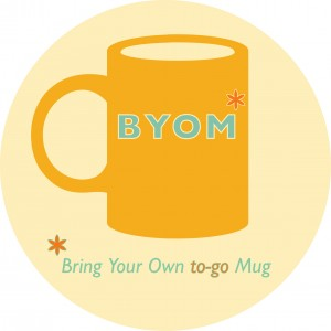 reduce waste, to-go mug