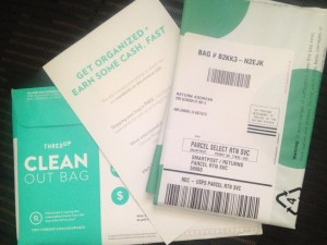 ThredUp Clean Out Bag - genius!