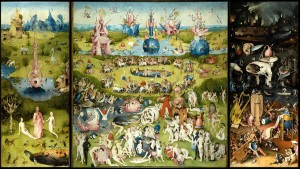 The Garden of Earthly Delights by Hieronymus Bosch 1485