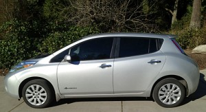 2017 Nissan Leaf EV, electric car